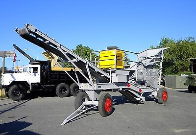 Cedarapids Model 10-24 Single Pass Gravel Plant Jaw Rock Crusher with Spare Jaws