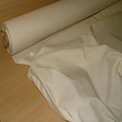 "100% NATURAL COTTON CALICO medium weight craft fabric material 60"" upholstery"
