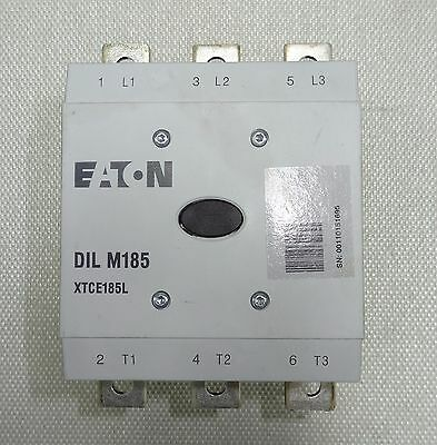 Eaton DIL M185 XTCE185L 24-48V Coil Contactor