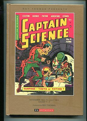 Captain Science Hardcover Perfect 10.0 New Reprints