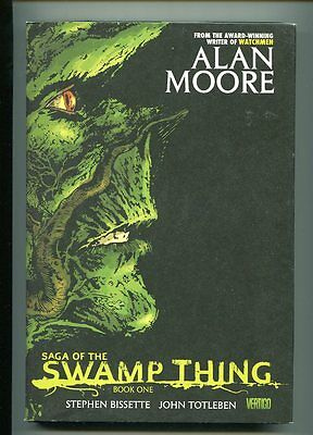 Saga Of The Swamp Thing Hardcover 1St Print Alan Moore Hi Grade 9.0