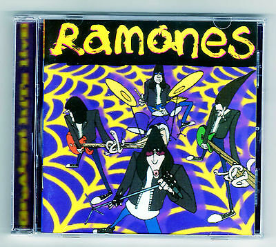 RAMONES Colombia Cd Album GREATEST HITS LIVE 18 tracks 1996  / 16