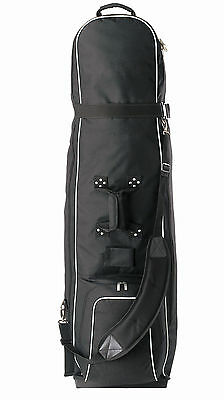 Brand New Golf Bag Premium Travel Cover  On Wheels  Padded Top  Fits Most Bags