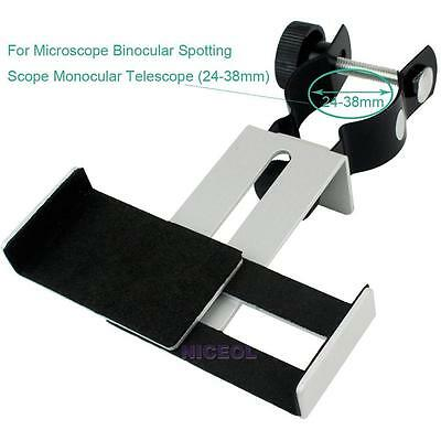Universal Mount Stand Adapter for Monoculars Eyepiece Phone Microscope Telescope
