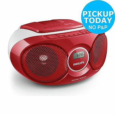 Philips AZ215R/05 Boombox - Red. From the Official Argos Shop on ebay