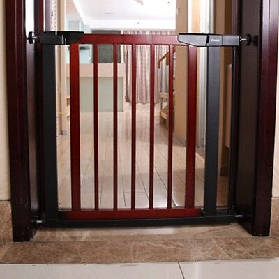 Newly Baby Safety Gate Safe Infant Room Door Stairs Protective Fence Adjustable