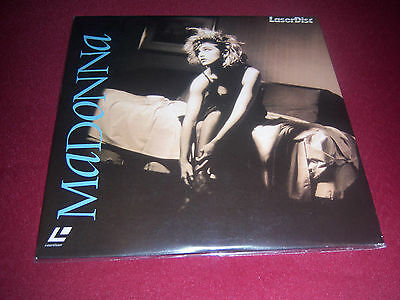 "Madonna 8"" Japanese White Laserdisc Ep 4 Videos On Laser Disc Very Rare Item Lot"