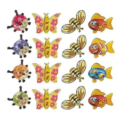 Chocolate Butterflies Bees Ladybugs Fish-32 Pieces Mix Pack-Kids Theme Parties