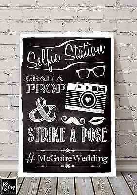 C006 Wedding DECOR PHOTO BOOTH, SELFIE, INSTAGRAM # MR AND MRS SIGNAGE