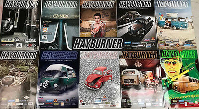 Hayburner Bulk Issue Pack 1-19 With *free Sticker*
