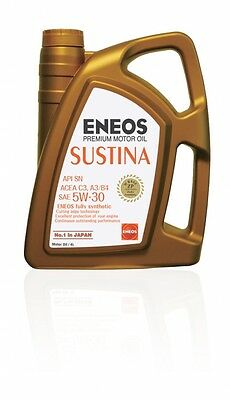 Genuine Japanese Fully Synthetic Engine Motor Oil ENEOS SUSTINA 5W30 4Litres