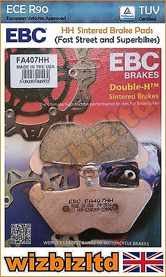 EBC Front Left Sintered HH Brake Pads BMW R100 R 91-95 FA407HH