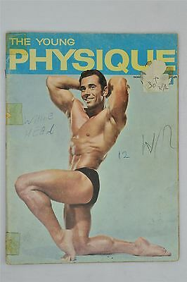 The Young Physique Magazine #6 1963 Vintage Muscle Gay John Tristram Dick Kiefer