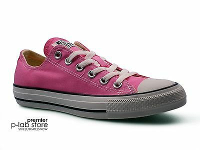Converse Chuck Taylor All Star Ox Low Top Pink Canvas Unisex Trainers. New d2d753d1b