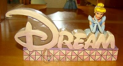 DREAM PLAQUE (Disney Traditions by Jim Shore, 4027139) Cinderella
