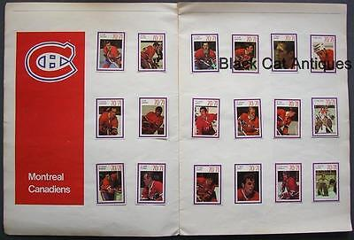 Original 1970-71 National Hockey League Players Full Stamp Collection - 14 teams