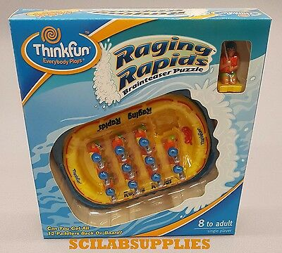 Raging Rapids Brainteaser Puzzle - Patterns & Abstract Thinking Skills