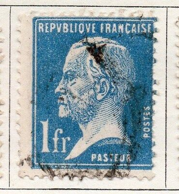France 1925-26 Early Issue Fine Used 1F. 094058