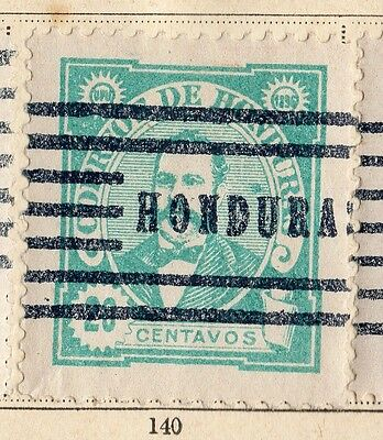 Honduras 1896 Early Issue Fine Used 20c. 094245