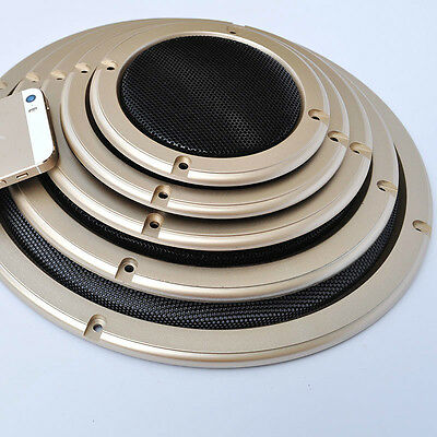 "1pcs 2""/4""/5""/6.5""/8""/10"" inch Speaker Cover Decorative Circle Metal Mesh Grille"