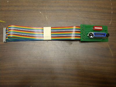Ics Electronics 113642-90 Vertical Gpib Connector Address Switch Cable Assembly