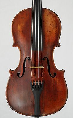 Nice very old antique 4/4 French Restored  Violin labeled Strad Copy