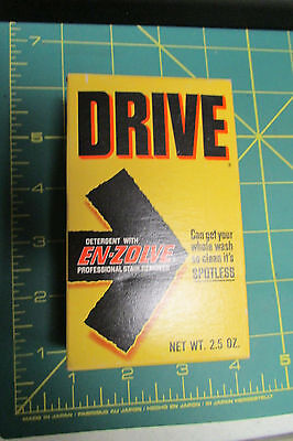 Unopened Drive Detergent with En-Zolve Stain Remover Lever Brothers 2.5oz box