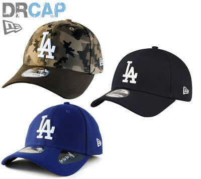 New Era 39Thirty La Dodgers Baseball Caps Inc League Basic Stretch Fit S-Xl