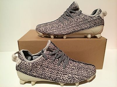 New Adidas Yeezy 350 Cleat Turtle Dove Men's Size 10 + Receipt B42410