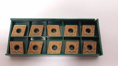 New World Products CNMG 432 NS GP15 C2 TiN Coat Carbide Inserts 10pcs CNMG120408