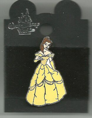 Disney pin  Belle in Yellow Gown