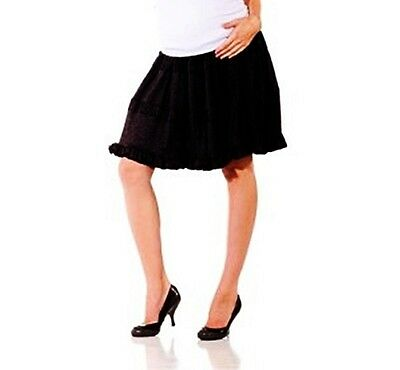NWT Cami Short Pregnancy Skirt by  Lilac Maternity Clothing, Black Small