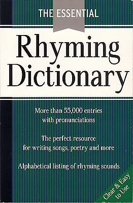 The Essential Rhyming Dictionary (Free Postage)