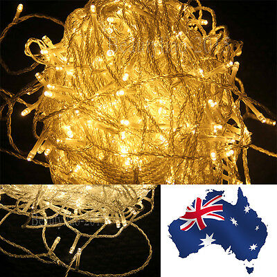 50/100 Meter LED String Fairy Lights Indoor / Outdoor Christmas Party Warm white