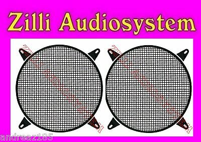 Phonocar 03020 pair grid metal for woofer o subwoofer from 20 cm. New
