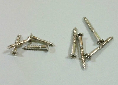 8 Humbucker Ring Screws Nickel M 69 Montreux Time Machine fits Les Paul