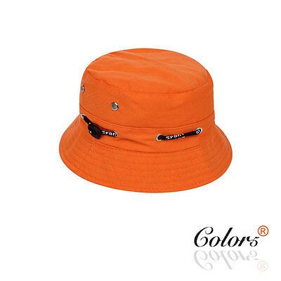 Color5 NEW  Children Kids Sun Protection Outdoor Bucket Hat Adjustable