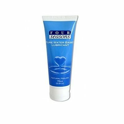 FOUR SEASONS PURE WATER BASED LUBRICANT Natural Feeling Lube 75mL FREE POST