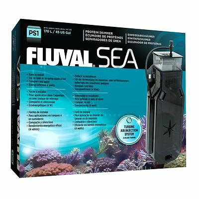 Fluval Sea PS1 Protein Skimmer Marine Aquarium Fish Tank Coral Reef