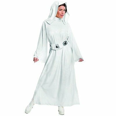 Adult Sexy Princess Leia Ladies Fancy Dress Costume Star Wars Halloween Cosplay