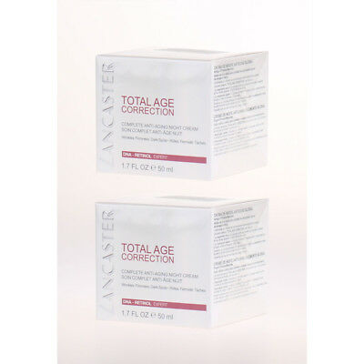 Lancaster Total Age Correction Complete - Anti-Aging Night Cream 50ml - 2x