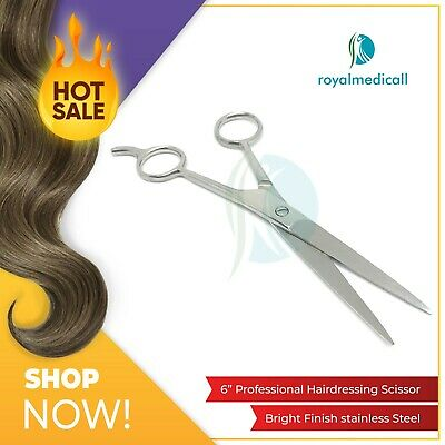 """6"""" Professional Hairdressing Scissors Barber Hair Cutting Thinning Shears"""