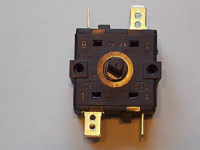 AC 250V 15A 5 Pins Rotary Switch Selector for Electric Heater