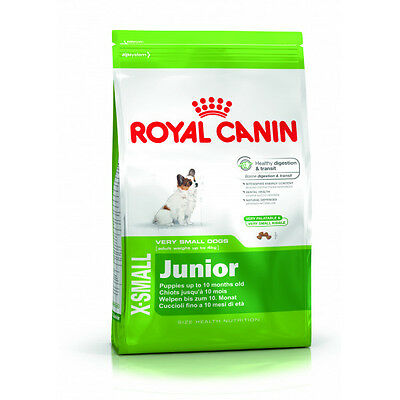 Croquettes Royal Canin X-SMALL Junior Sac 1,5 kg