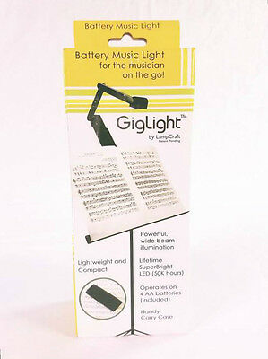 Lampcraft Giglight Stand Light-Includes 4 AA Batteries BRAND NEW QuinnTheEskimo