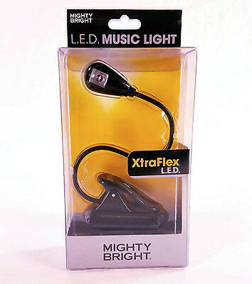 Mighty Bright LED Music Light XtraFlex in Black BRAND NEW QuinnThe Eskimo