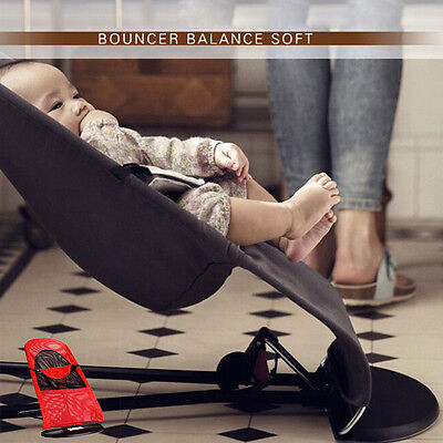 Baby Bouncer Newborn Balance Soft Bouncing Chair Infant Rocking Seat Safety Rock