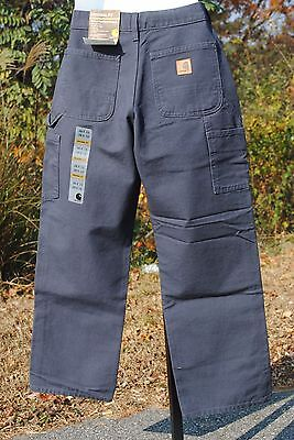 Carhartt B11 Work Pants : Petrol Blue