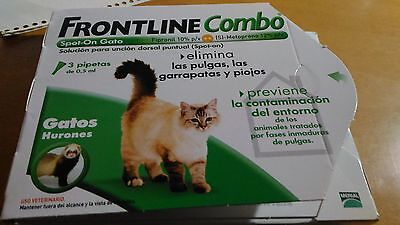 Frontline Combo Spot-On (Gatos Y Hurones) - Antiparásitos - 1 Pipeta