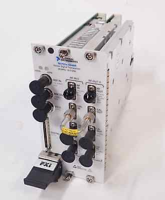 NATIONAL INSTRUMENTS NI PXIe-5644R 65MHz - 6GHz RF VECTOR SIGNAL TRANSCEIVER VST